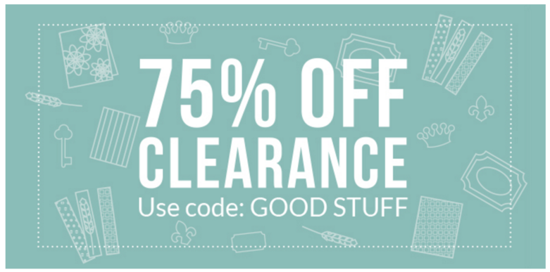 Cricut clearance on sale the craft chop for Clearance craft supplies sale